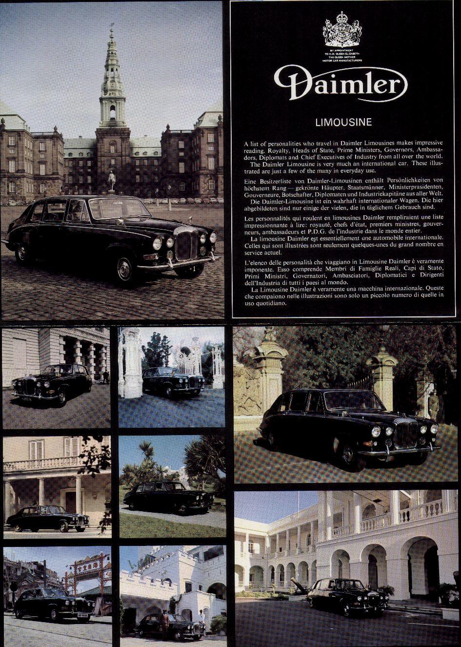 Daimler Limousine Brochure